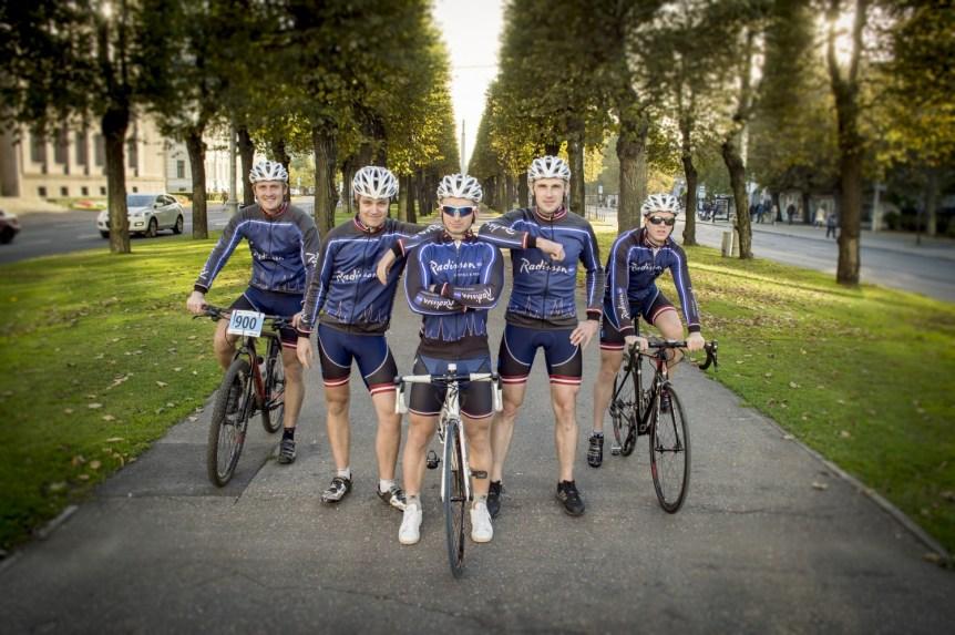 DSC5461 Radisson Blu Hotel Latvija riteņbraucēju komanda