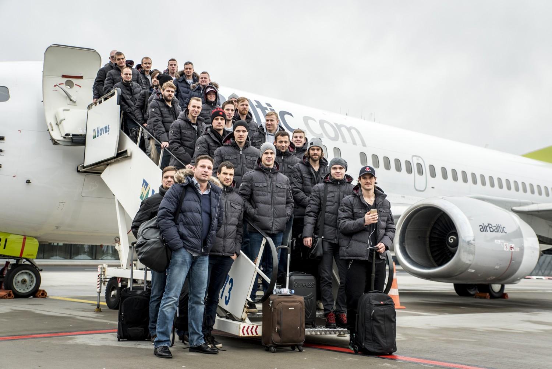 KV1_1225_2 Dinamo Rīga dodas uz izbraukuma spēlēm