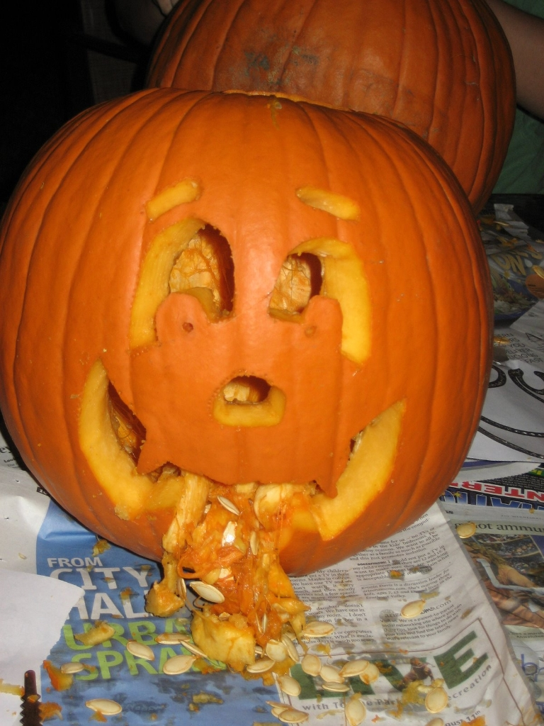 Puking Pumpkins 2 25 pics  1Funnycom