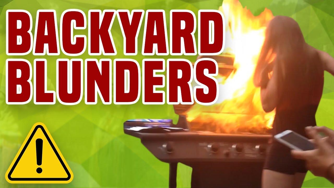 Backyard Blunders  BBQ  Party Fails  1Funnycom