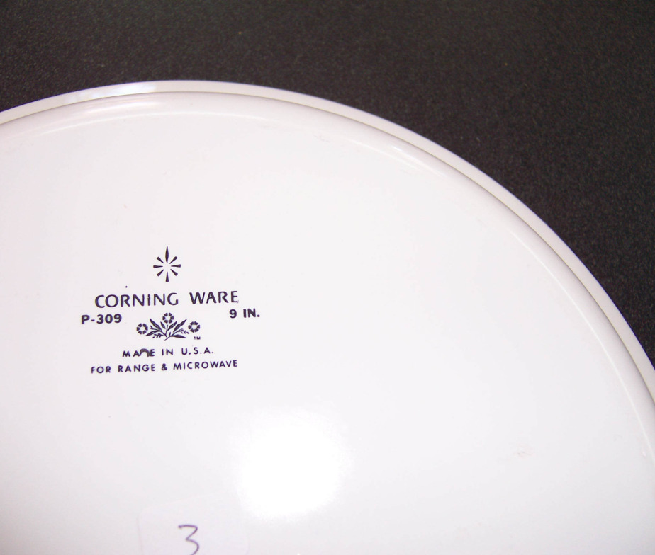 Triple A Resale Corning Ware 9 Inch Pie Plate