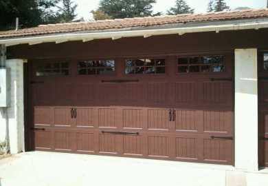 Garage Door Hardware Before And After