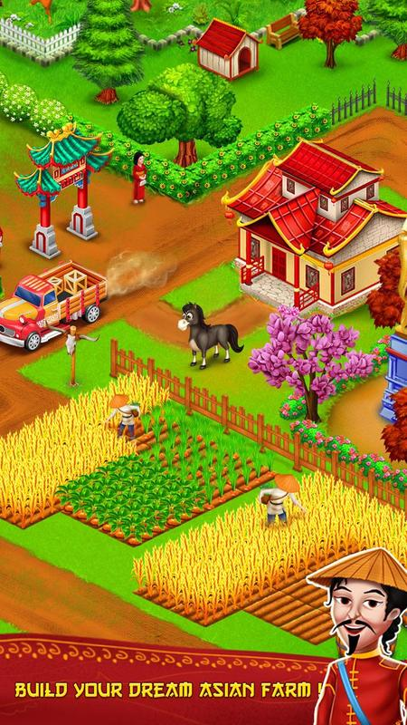 Download Little Big Farm Mod Apk : download, little, Download, Asian, Farmer, Coins, Android/iOS