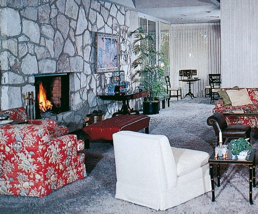 Another view of the Reagan living room.