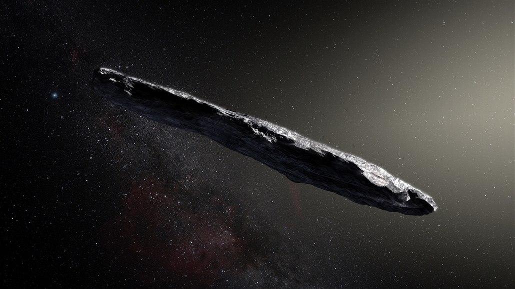 Rekonstrukce možné podoby planetky 1I/2017 U1 ('Oumuamua) na základě údajů...