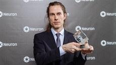 Vědec Tomáš Mikolov na předávání cen NF Neuron (19.12.2018)