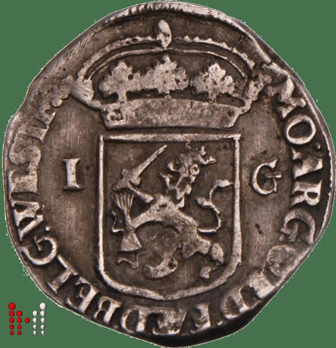 Gulden West Friesland 1702