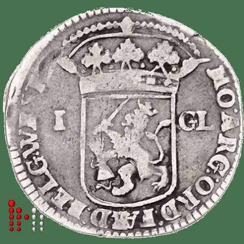 Gulden West Friesland 1706