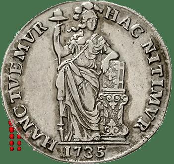 Gulden 1735 Holland