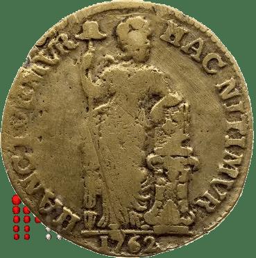 Gulden West Friesland VALS 1762