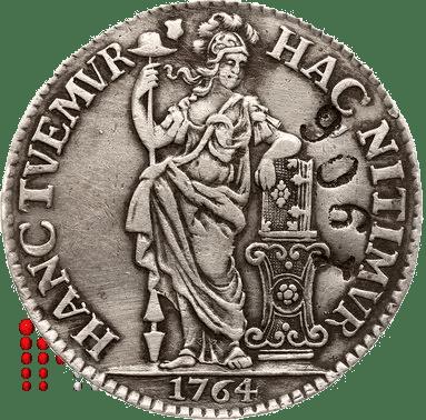 Gulden Utrecht 1764