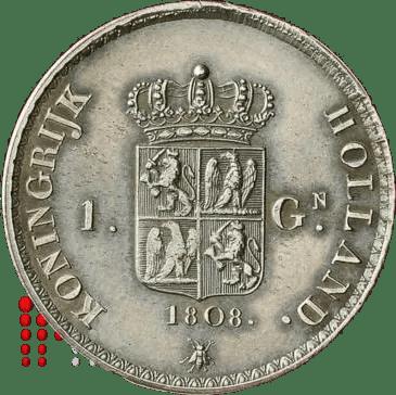 Gulden Napoleon 1808_