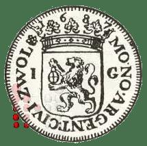Gulden Zwolle 1687