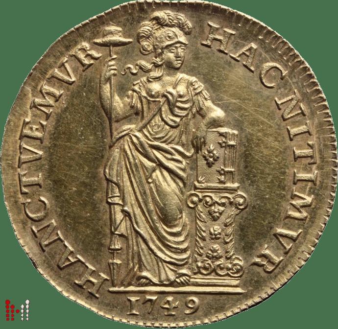 GULDEN GOUD HOLLAND 1749