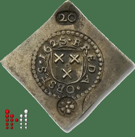 1625 Gulden Breda 20 Stuivers