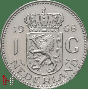 1 Gulden 1968 Zilver