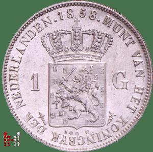 gulden 1858