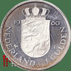 Gulden 1980 Zilver