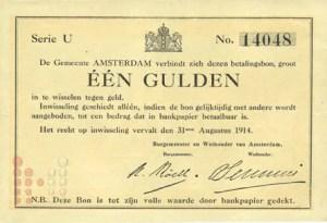 1914 Gulden Amsterdam