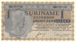 1960 gulden Suriname