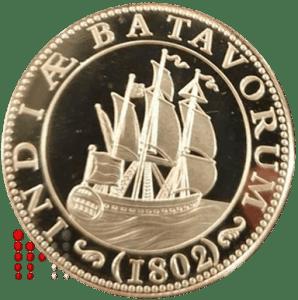 1802 penning verzilverd
