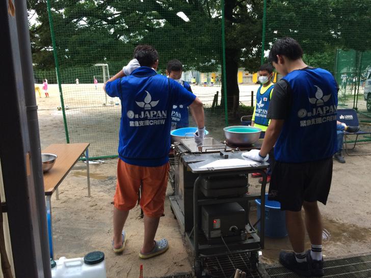 熊本地震ボランティア初日