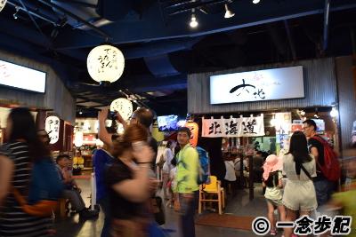 キャナルシティ博多のラーメンスタジアムは中国人?観光客でいっぱい