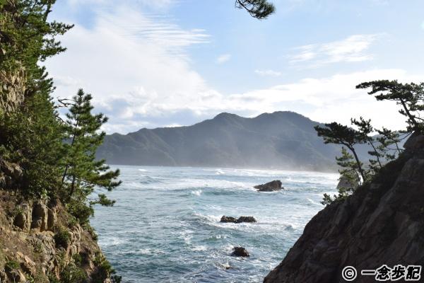 西脇海岸展望から見た七坂八峠