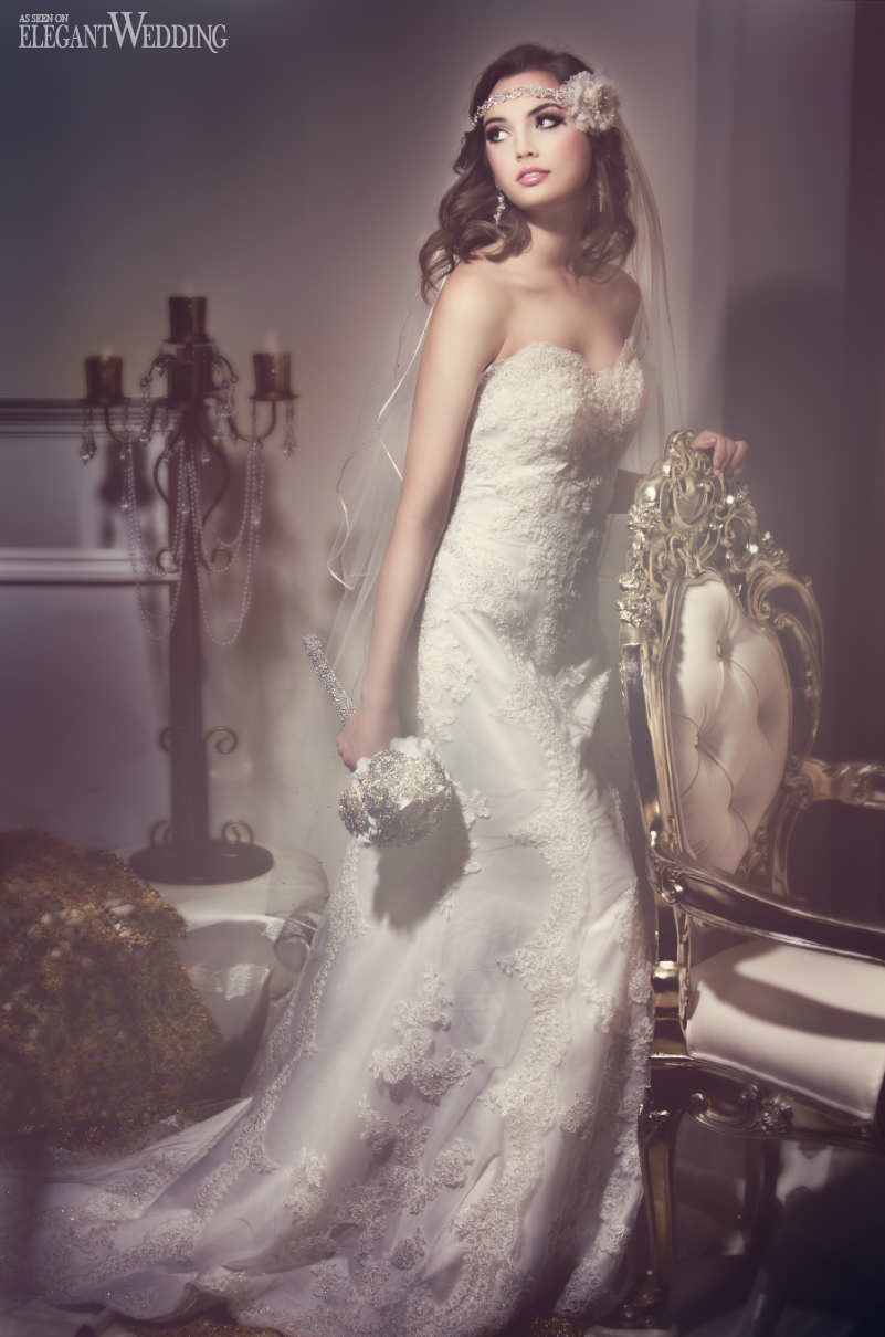 Hollywood Glam Wedding Dress