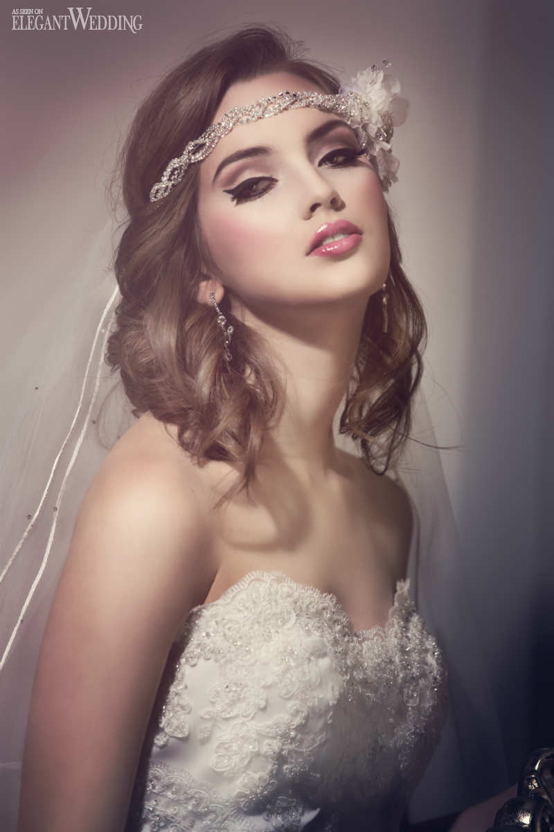 Old Hollywood Glamour Bridal Makeup