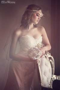 Old Hollywood Glamour Bridal Makeup & Hair | ElegantWedding.ca