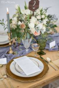 Natural & Rustic Wedding Theme With Greenery