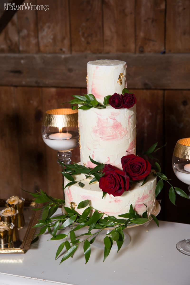 Rustic Burgundy Barn Wedding  ElegantWeddingca
