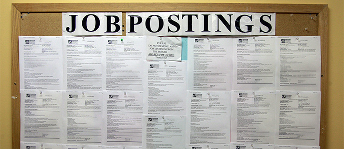 Job postings - finding employment for felons