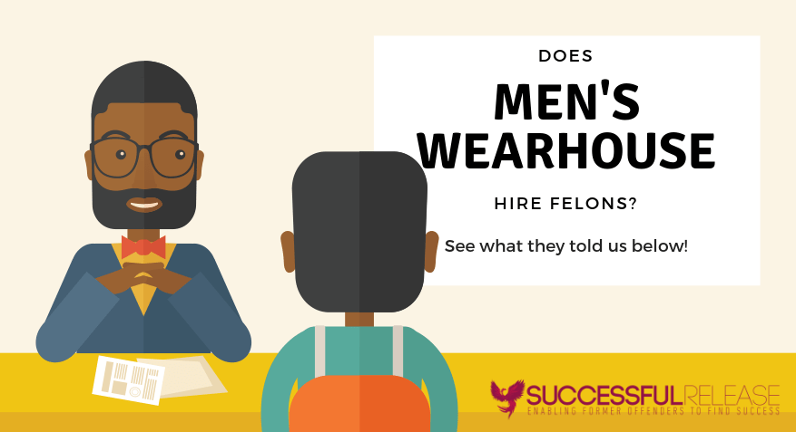 men's wearhouse, clothing, company profile, jobs for felons, does men's wearhouse hire felons