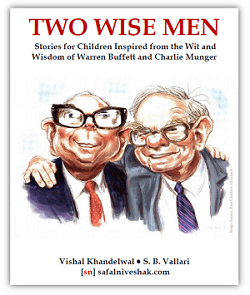 Two Wise Men: Stories for Children Inspired from the Wit and Wisdom of Warren Buffett and Charlie Munger