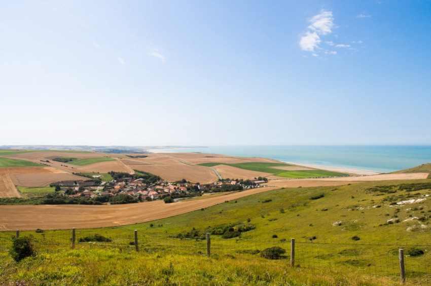 road trip, côte d'opale, france
