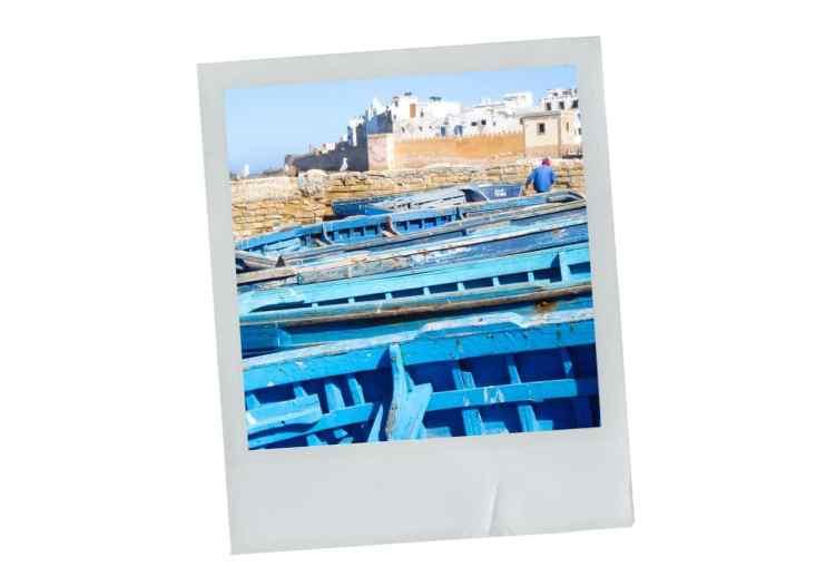 port, essaouira, maroc