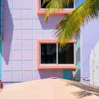 promenade dans l'Art Deco District de Miami Beach
