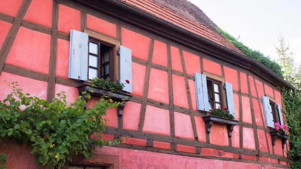 hunspach, alsace, colombage