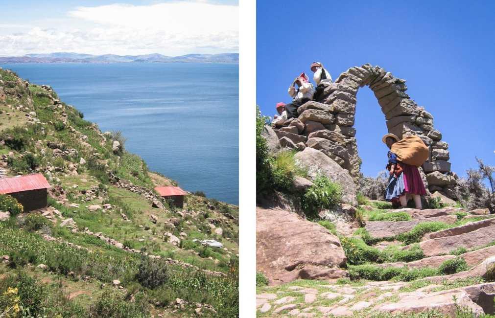 pérou, lac titicaca, taquile, amantani