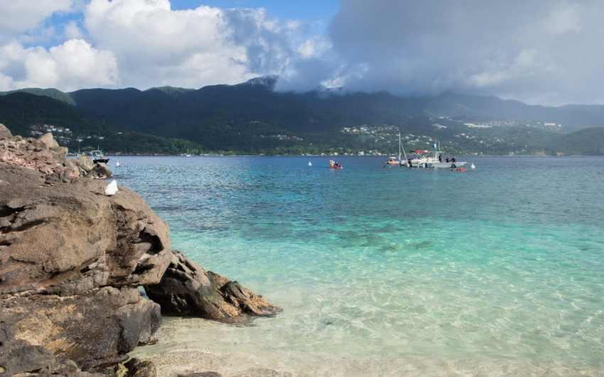 kayak, malendure, reserve cousteau, bouillante, guadeloupe