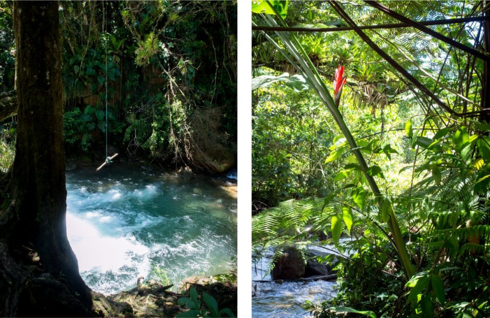 guadeloupe, rivière rouge, matouba, saint claude