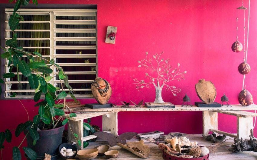portrait, architecture, créole, atelier, bijou, guadeloupe
