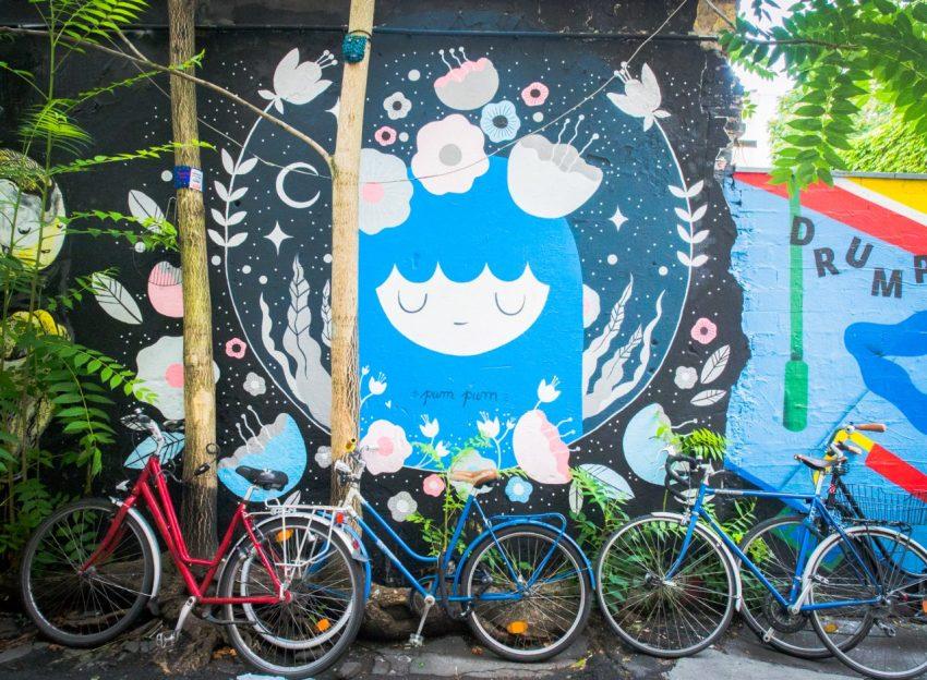 berlin, allemagne, street art, Hackesche Höfe