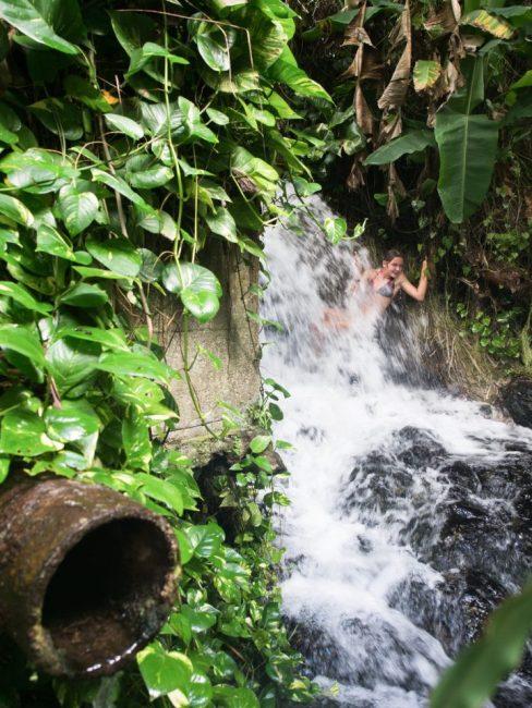 cascade, dolé, basse terre, guadeloupe