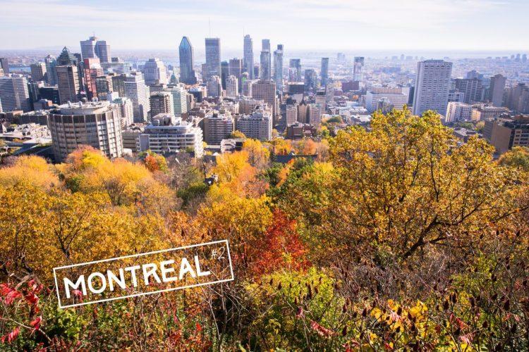 montréal, canada, architecture, point de vue