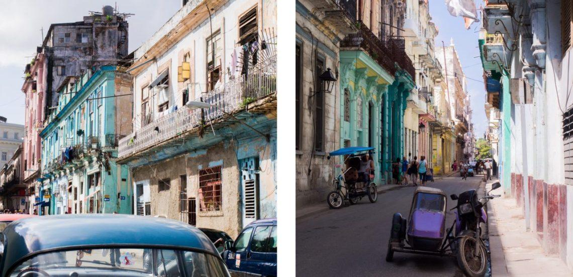 cuba, la havane, old car, street