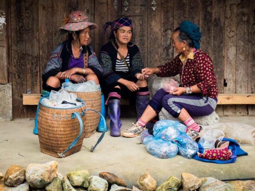 batik, portraits ethniques, vietnam, ethnies minoritaire