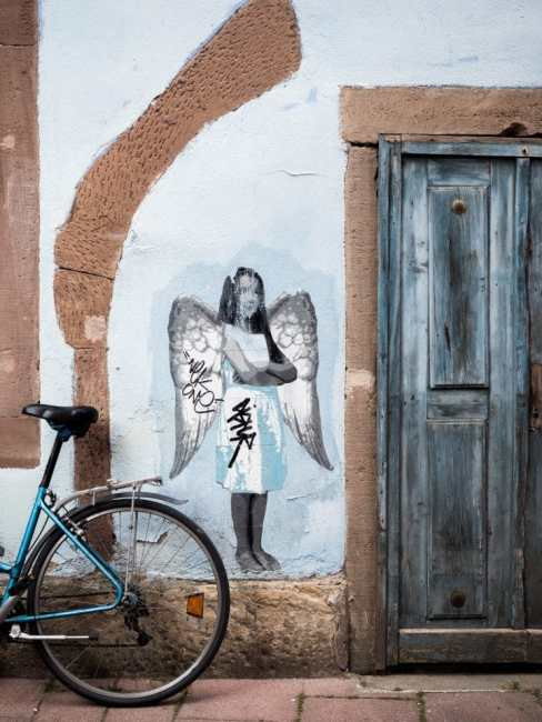 alsace, strasbourg, architecture, colombages, street art